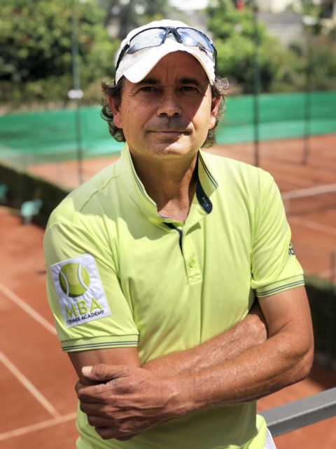 Tino - profesor MBA Tennis