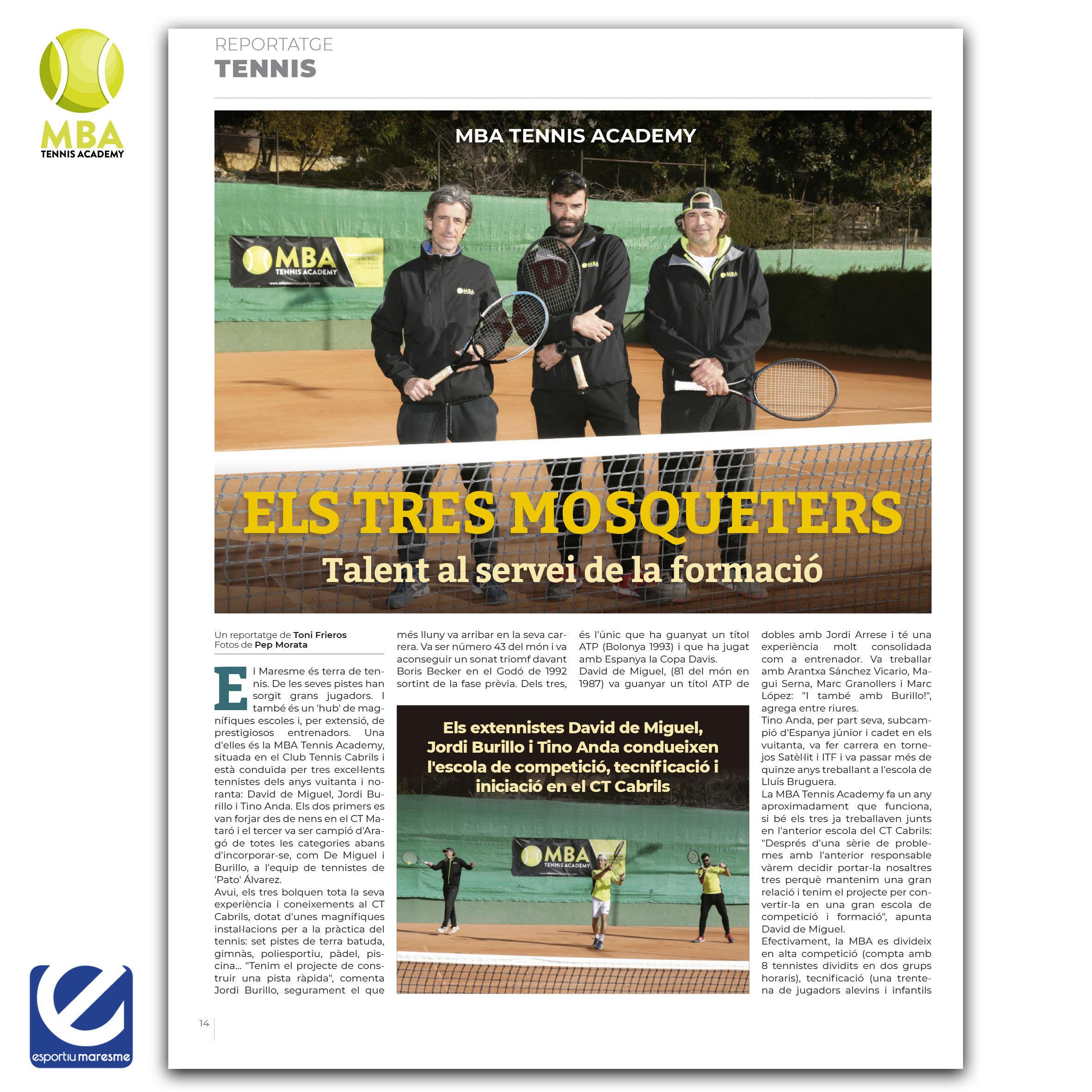 MBA-Tennis-Academy - Foto Esportiu Maresme 2