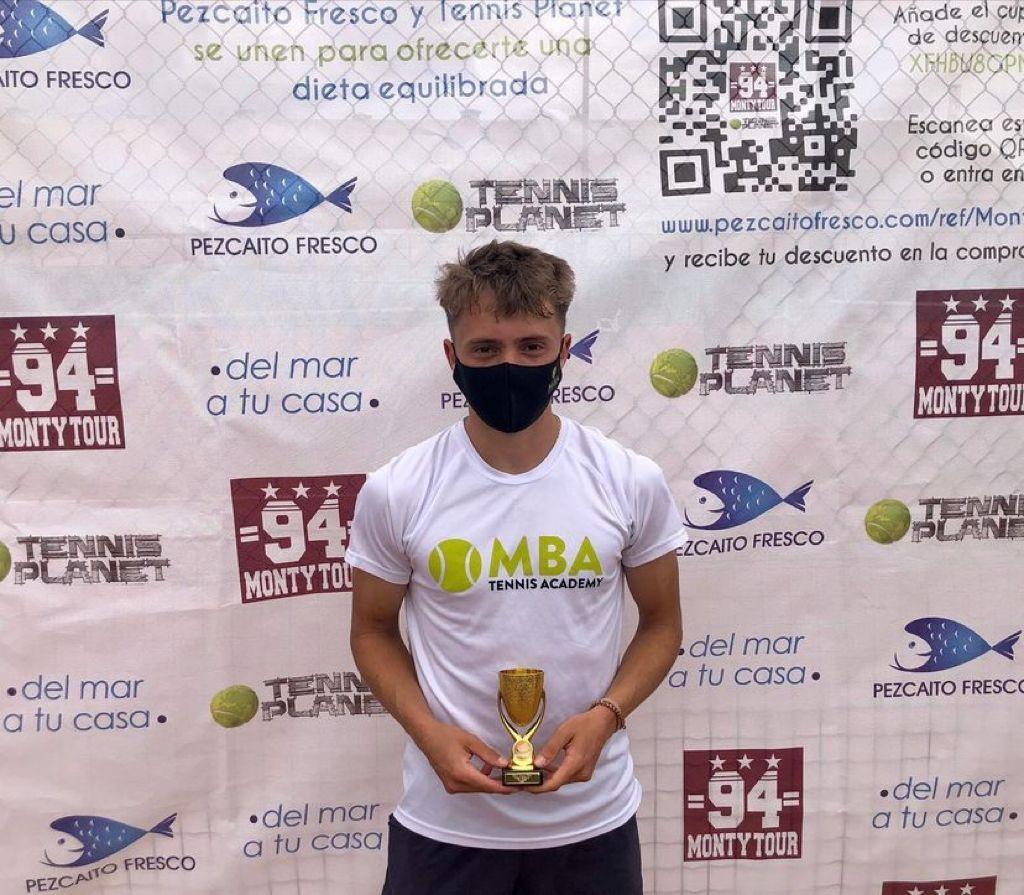 Jordi García campeón del Monty Tour XXVII Inter semanal Absoluto